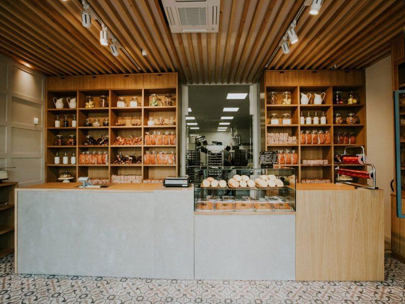 Casa Carral, despacho de ventas